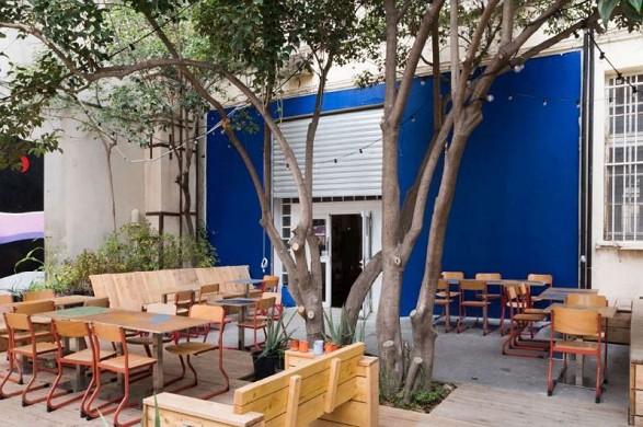 Coco velten - the canteen terrace