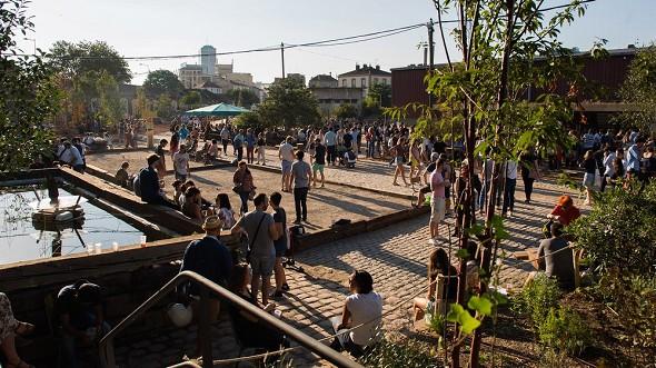 The fertile city - the courtyard