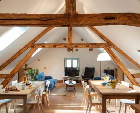 The hamlet of courances - the loft