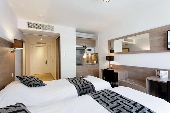Tulip inn massy palaiseau residences - twin room