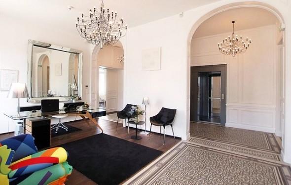 The manor hotel - reception