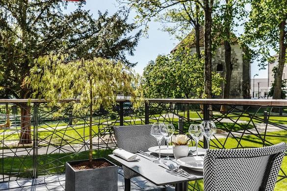 The mess gardens - terraza