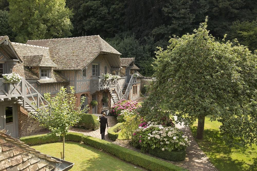 Die Saint Siméon Farm - der Pavillon