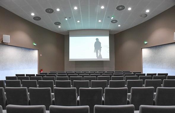 Airborne museum - cinema hall