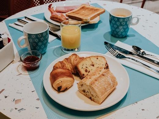 Novotel angers center gare - breakfast