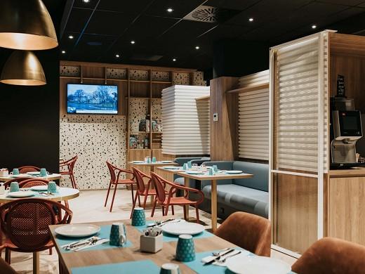 Novotel angers center gare - breakfast room