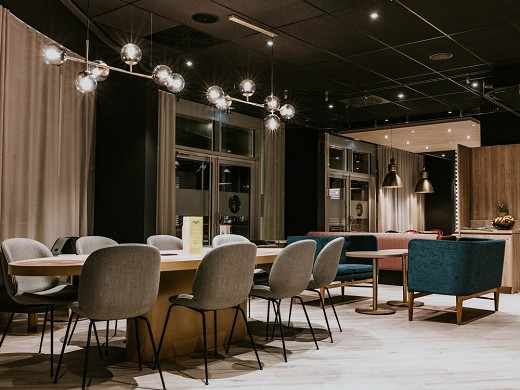 Novotel angers center gare - lounge