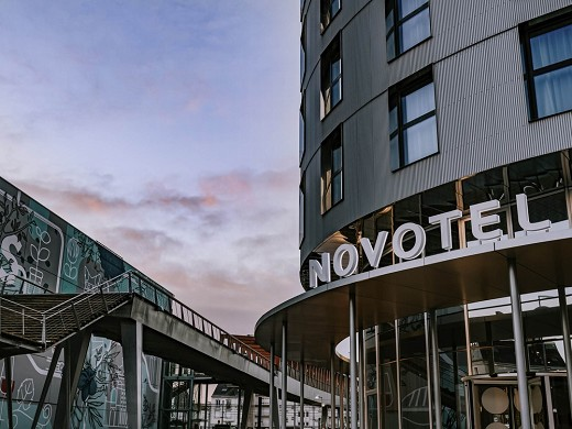 Novotel angers center gare - hotel with seminar rooms