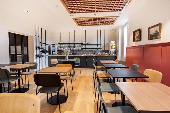 Grand hotel de la Gare - breakfast room