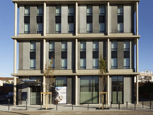 Novotel annemasse centre porte de genève - fachada