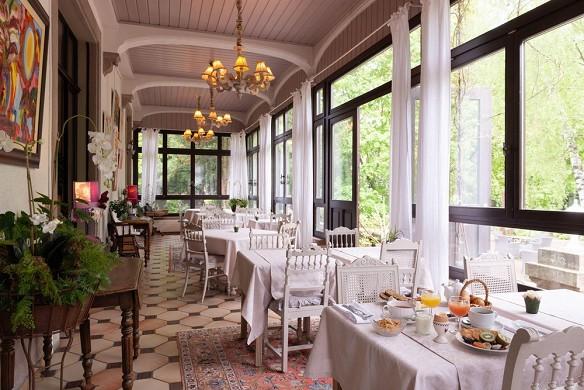 Domaine de Beaupré gli originali Relais - colazione