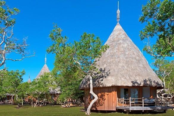 Sheraton New Caledonia Deva Spa und Golf Resort - traditioneller Bungalow
