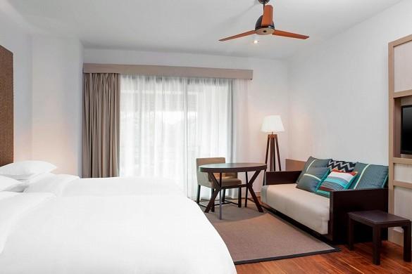 Sheraton New Caledonia Deva Spa und Golf Resort - traditionelles Zimmer