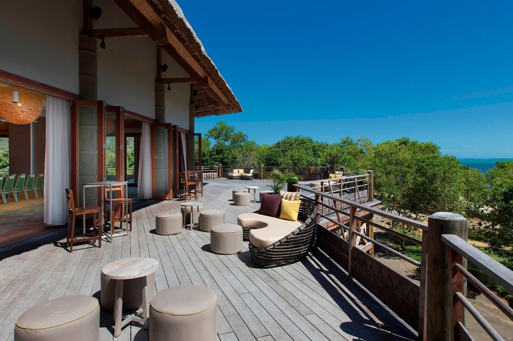 Außenterrasse - Sheraton New Caledonia Deva Spa and Golf Resort
