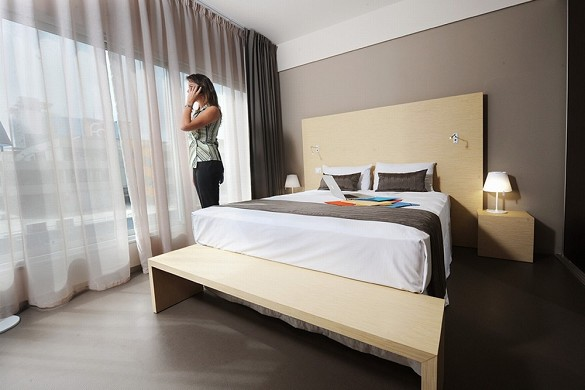 Zentrum Hotel - Zimmer