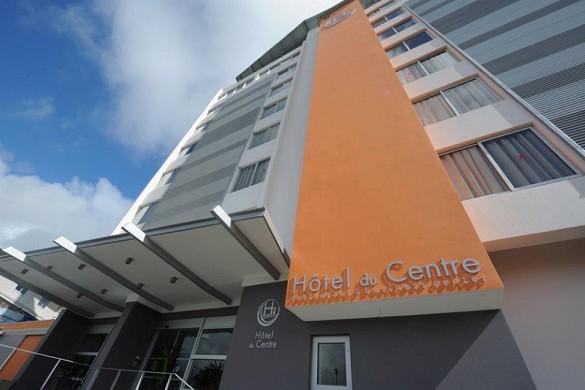 Zentrales Hotel - Fassade