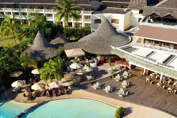 Intercontinental tahiti resort and spa - terraza
