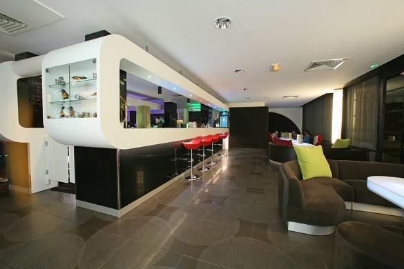 Manava suite resort tahiti - bar salón