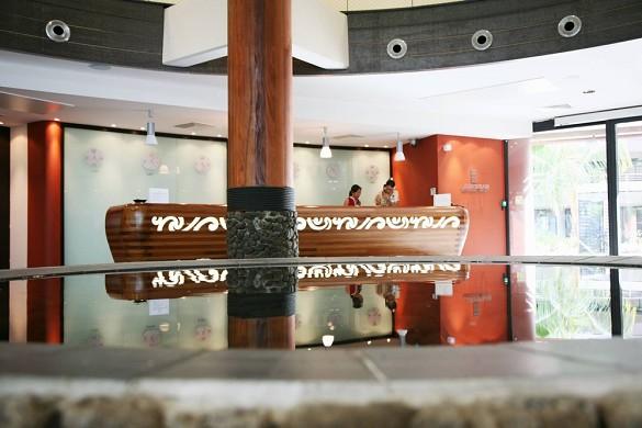 Manava suite resort tahiti - recepción