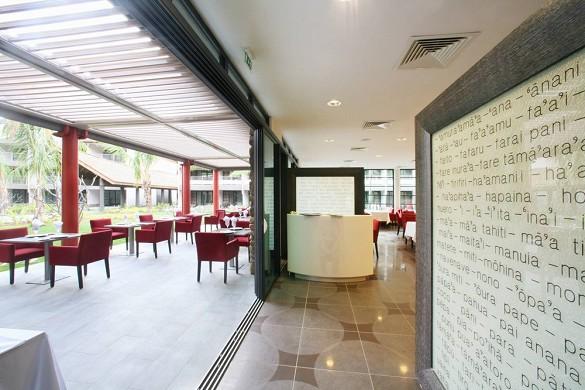 Manava suite resort tahiti - restaurante
