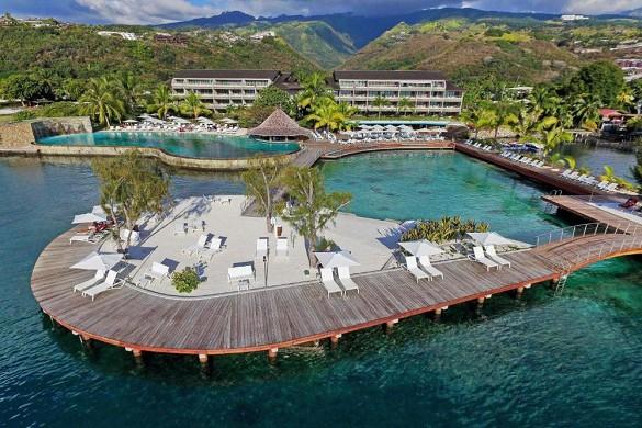 Manava suite resort tahiti - lugar para seminarios en tahiti