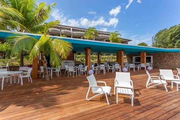 Manava suite resort tahiti - terraza