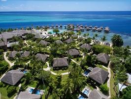 Manava Beach Resort and Spa Moorea - Vista panoramica