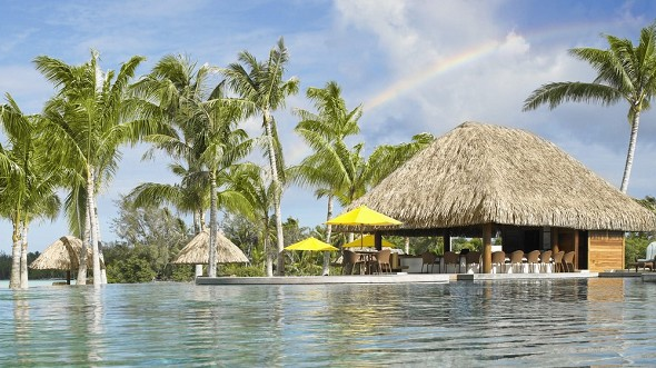 Four Seasons Resort Bora Bora - Strandgrill