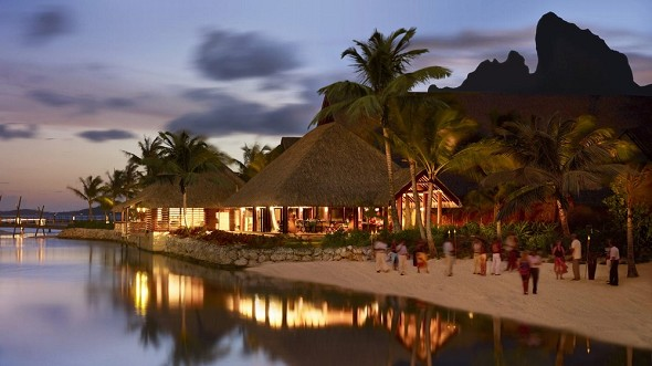 Four Seasons Resort Bora Bora - Geschäftsabend