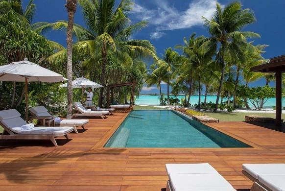 Four Seasons Resort Bora Bora - Freibad