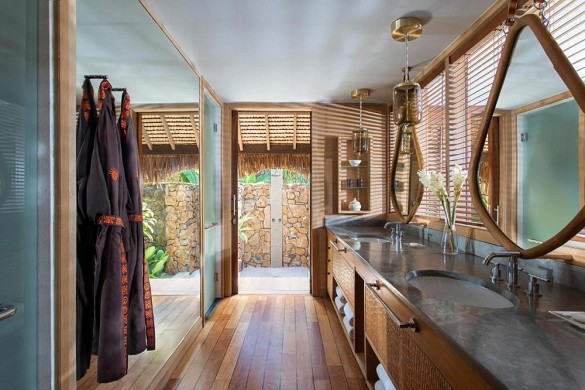 Four Seasons Resort Bora Bora - Badezimmer