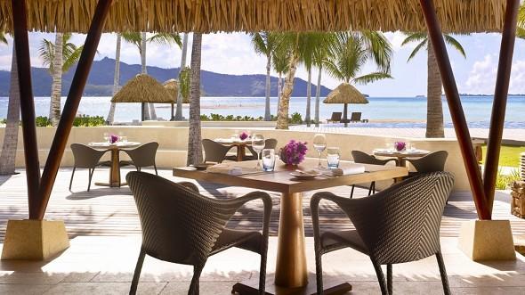 Vier Jahreszeiten Resort Bora Bora - Restaurant