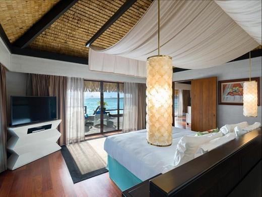 Das St. Regis Bora Bora Resort - Schlafzimmer