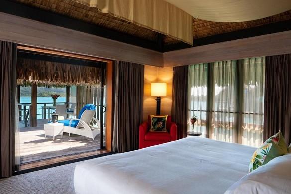 Das Resort St. Regis Bora Bora - Unterkunft