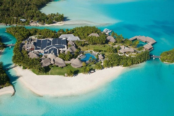Das Resort St. Regis Bora Bora - der Komplex