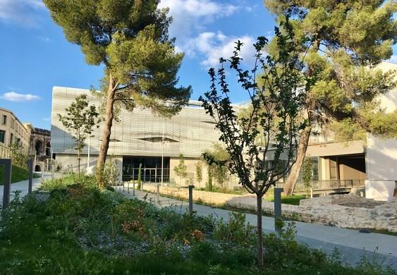Museo del Romanismo - jardín