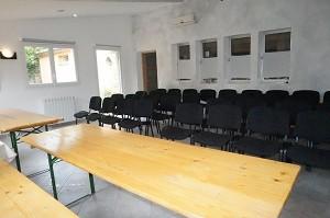 Sala de seminarios: Le Col de l'Ange -