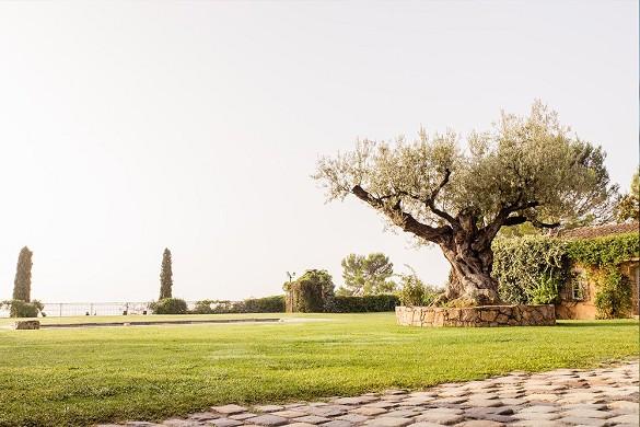 Castello di Rasque - giardino