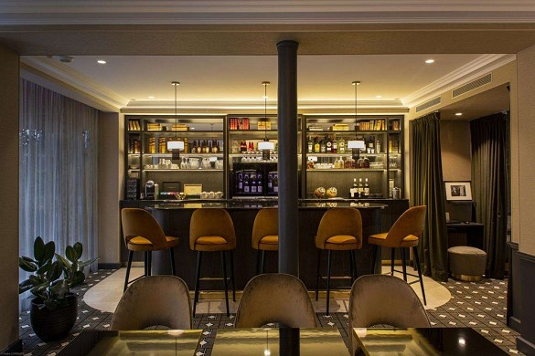 Lenox hotel - bar