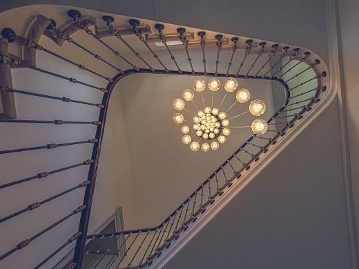 Domaine de la monestarié - staircase