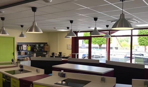 El taller gourmet - lugar del seminario en Alençon