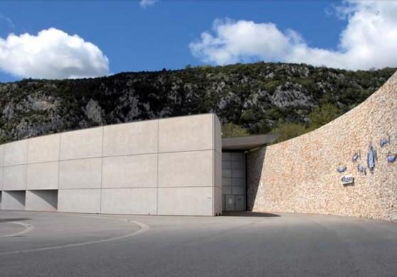 Museo de prehistoria de las gargantas del Verdon - exterior