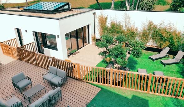 Appart hotel la villa du port - terraza