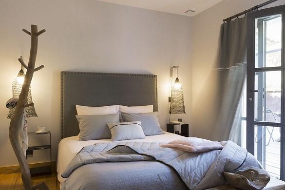 Domaine sainte-colombe - camera da letto