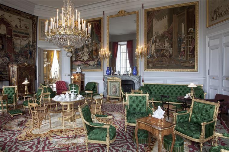 Chateau de Compiegne - lounge