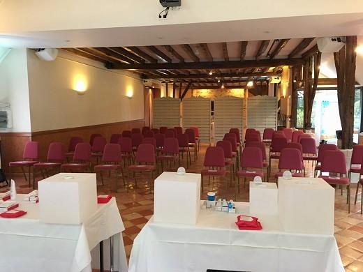 Domaine du Colombier - organizando un seminario