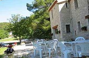 La cappella Forcalquier terrazza