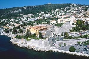 Die Zitadelle von Villefrance Sur Mer - Übersicht