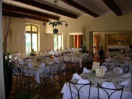 Château de richebois - comida de negocios