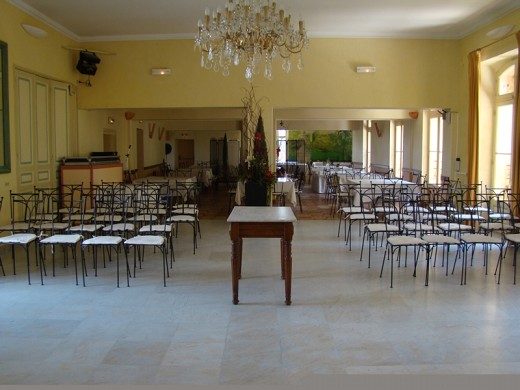 Château de richebois - sala de reuniones
